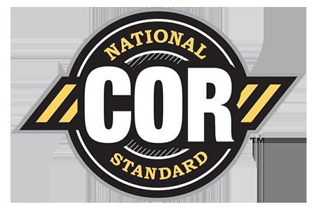 National COR Standard logo